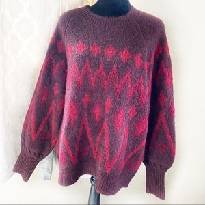 Target A New Day super soft Red Sweater Large